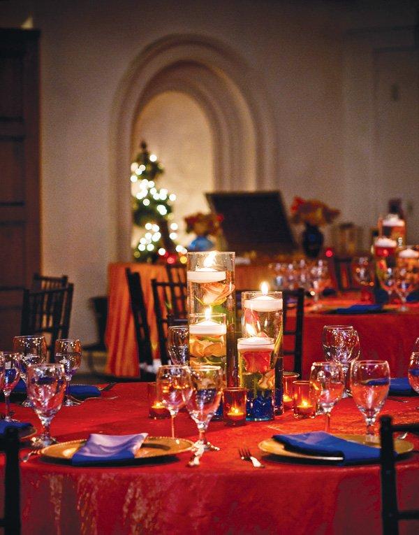 indian lohri celebration table setting