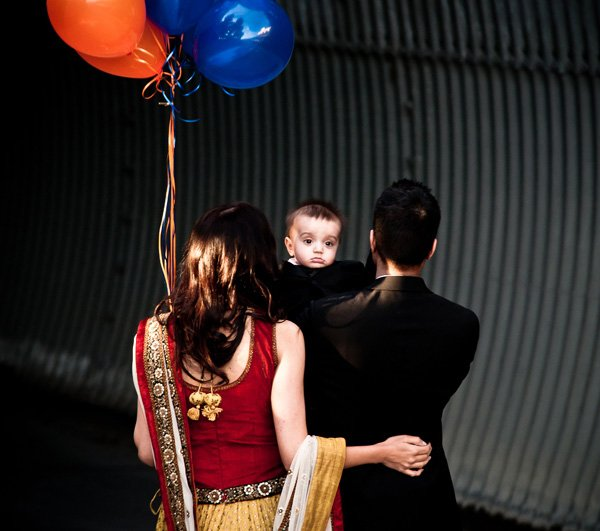 indian lohri celebration for a first birthday