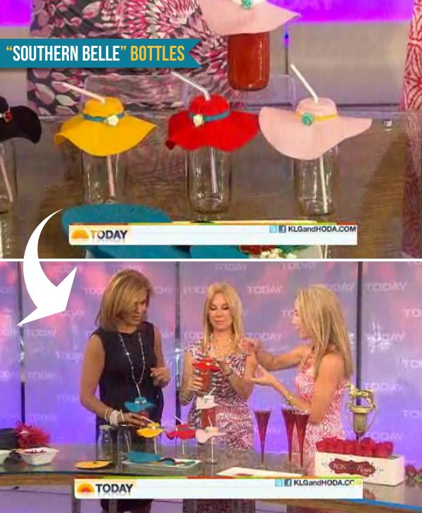 kentucky derby party southern belle bottles