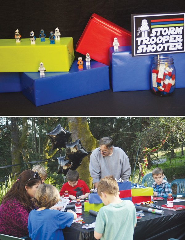 star wars lego party