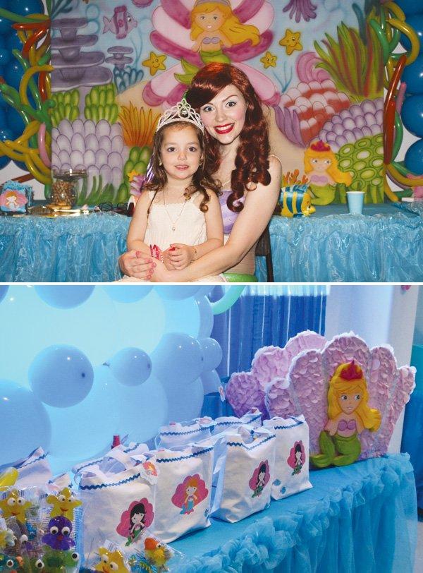little mermaid ariel princess party
