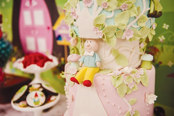 magic faraway tree party with amazing cake fondant craftmanship