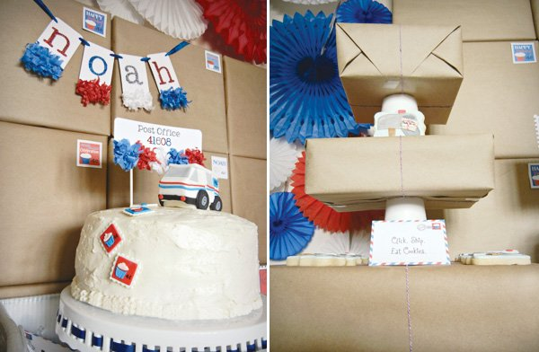 mail birthday party cake