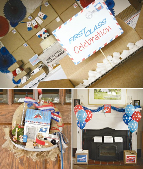 mail birthday party decorations