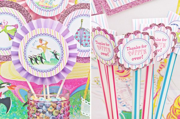 mary poppins party circles