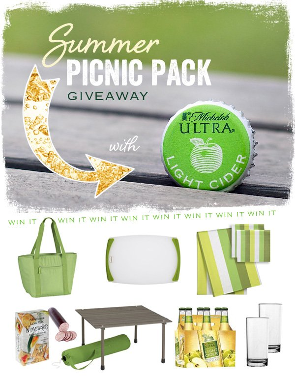 michelob ultra light cider giveaway
