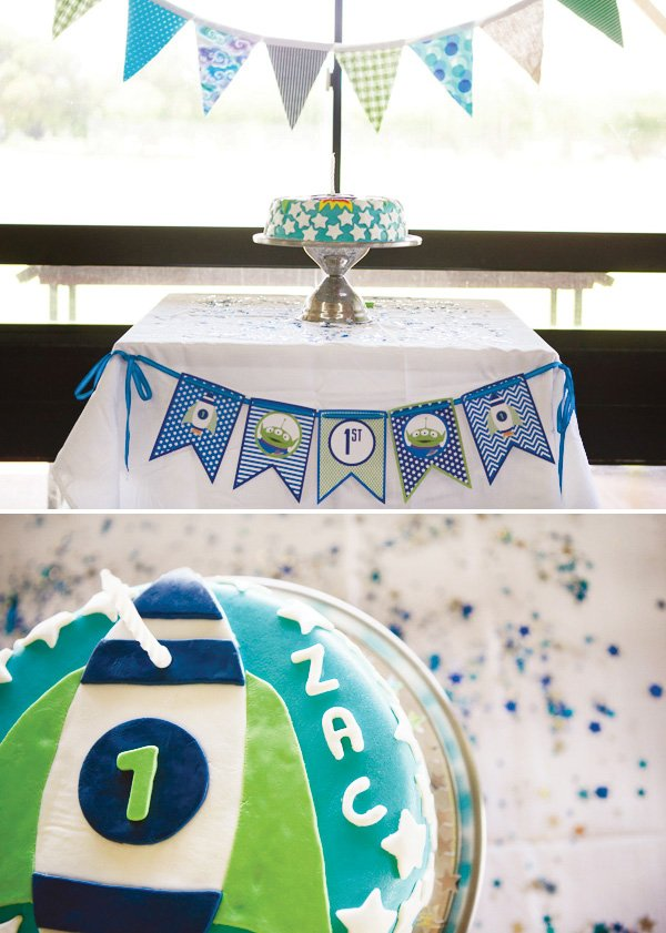 modern toy story birthday cake