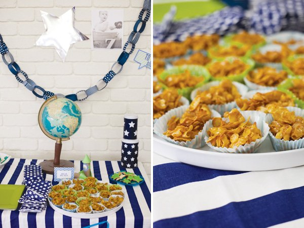 modern toy story party paper chain garland