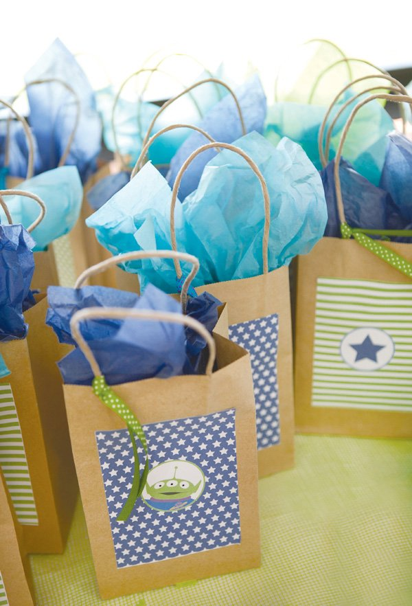 modern toy story birthday party favors