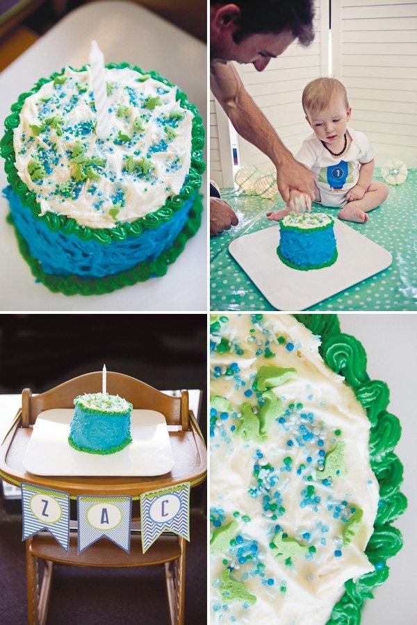 modern toy story birthday party smash cake