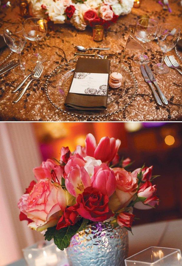 modern vintage floral and roses