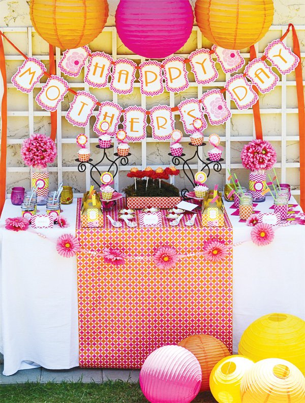 Colorful Mother 39 S Day Lunch Ideas Hostess With The Mostess