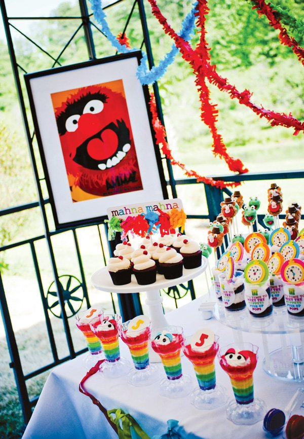 muppet art print party decor