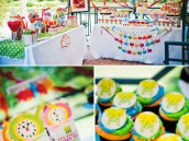 muppet themed birthday party