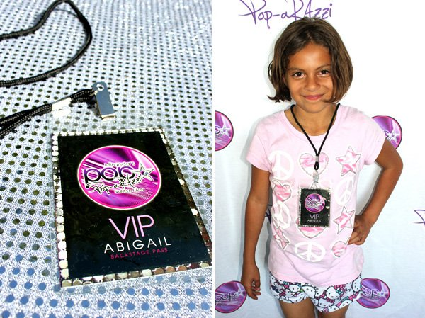 pop star paparazzi party printables - backstage passes