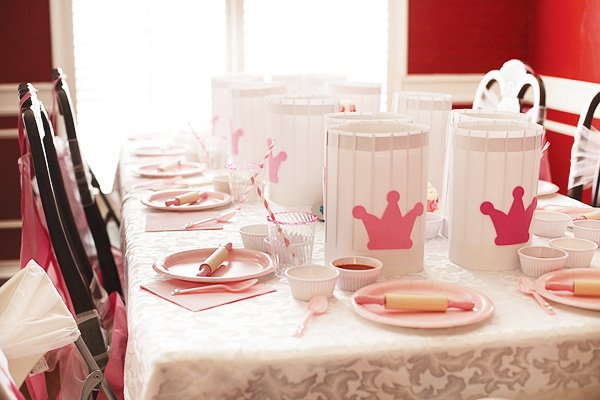 Pink Princess} Cooking Party For Kids // Hostess with the Mostess®