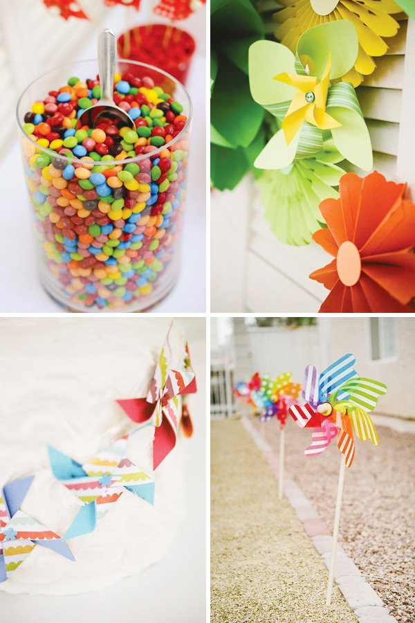 pinwheel party theme ideas
