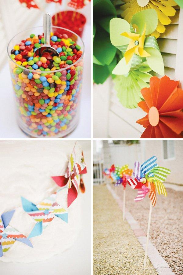 pinwheel party theme ideas