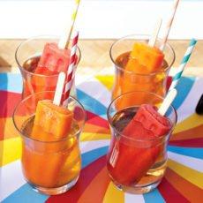 red and orange popsicle cocktails - hwtm