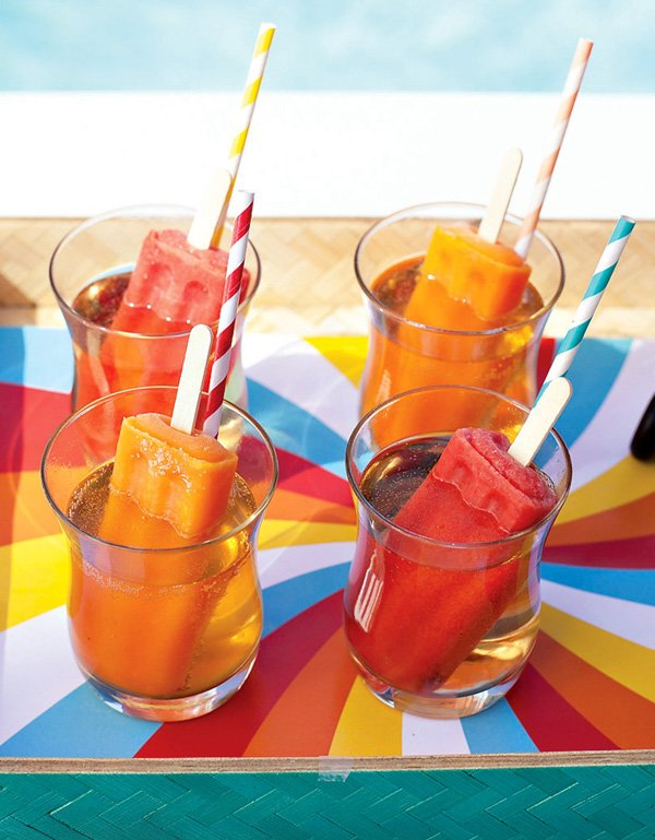Fruity & Refreshing POPSICLE Cocktails {Cheers!} // Hostess with the Mostess®