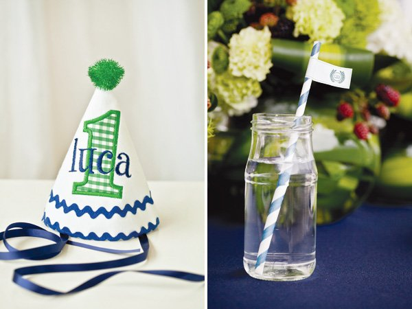 ralph lauren inspired preppy polo party first birthday hat
