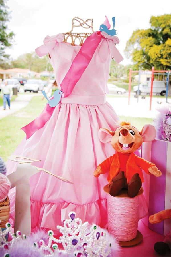 disney princess birthday party cinderella dress decor