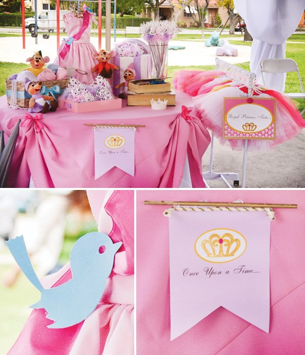 Dress Inspired Disney Princess Birthday Party Hostess With The