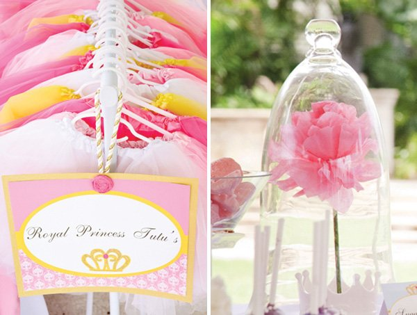 disney princess birthday party tutus