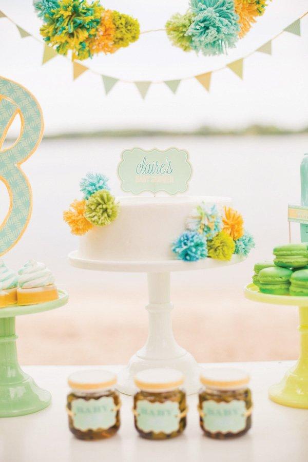 Good Gender Neutral Baby Shower Cake