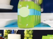 toy story birthday party buzz lightyear drinks