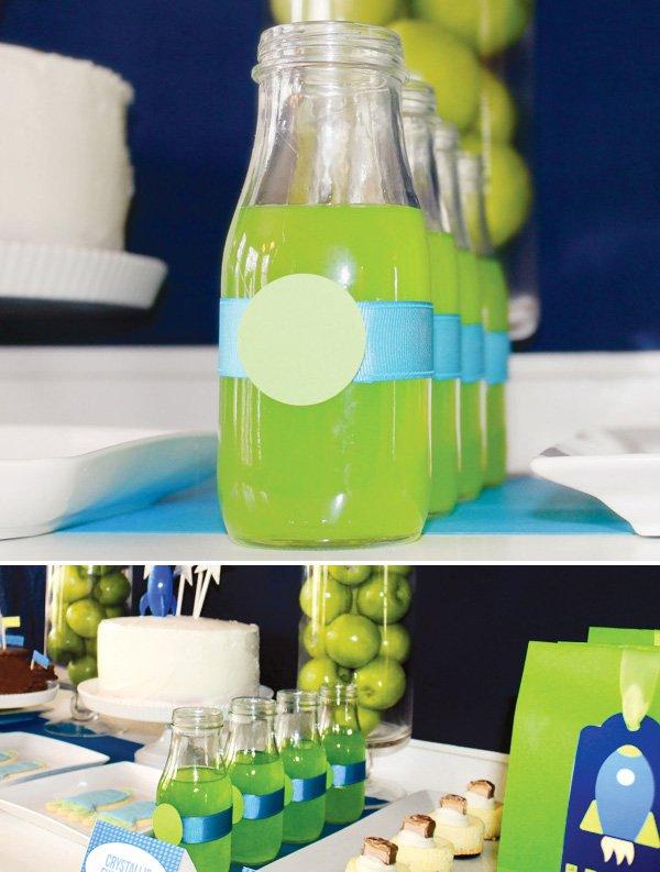 toy story birthday party buzz lightyear drinks