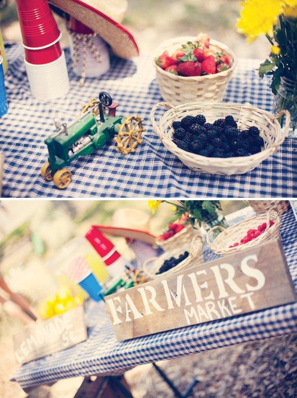 vintage county fair party farmers market