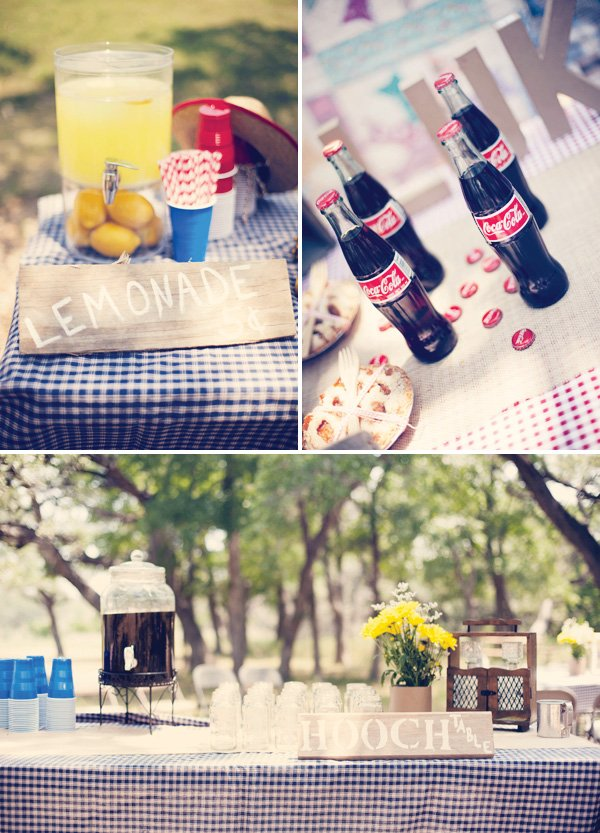 vintage county fair party lemonade