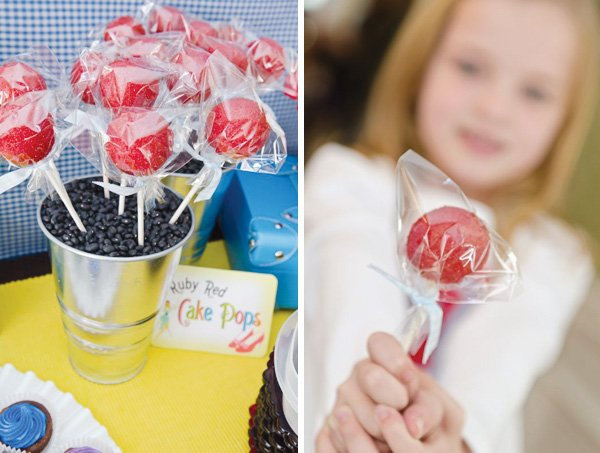 wizard of oz red ruby lollipops