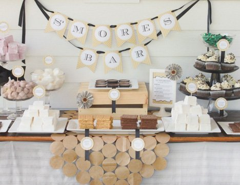 Pub Style Grillers & Growlers Party {+ S'mores Bar}