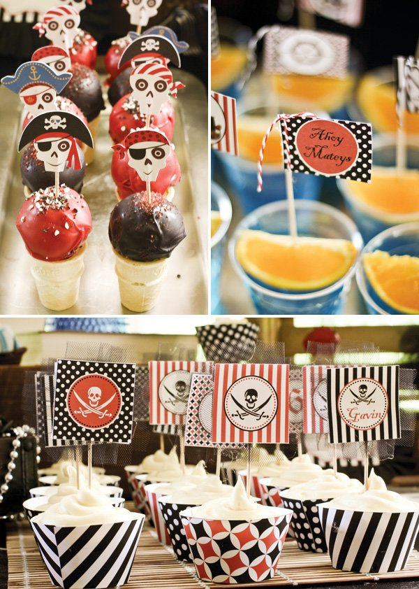 ahoy pirate party desserts