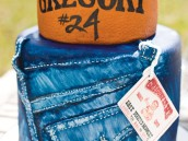 basketball and true religion jeans decorated cake