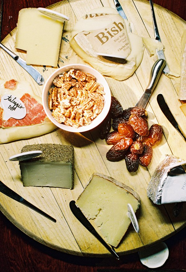 dinner party cheese plate