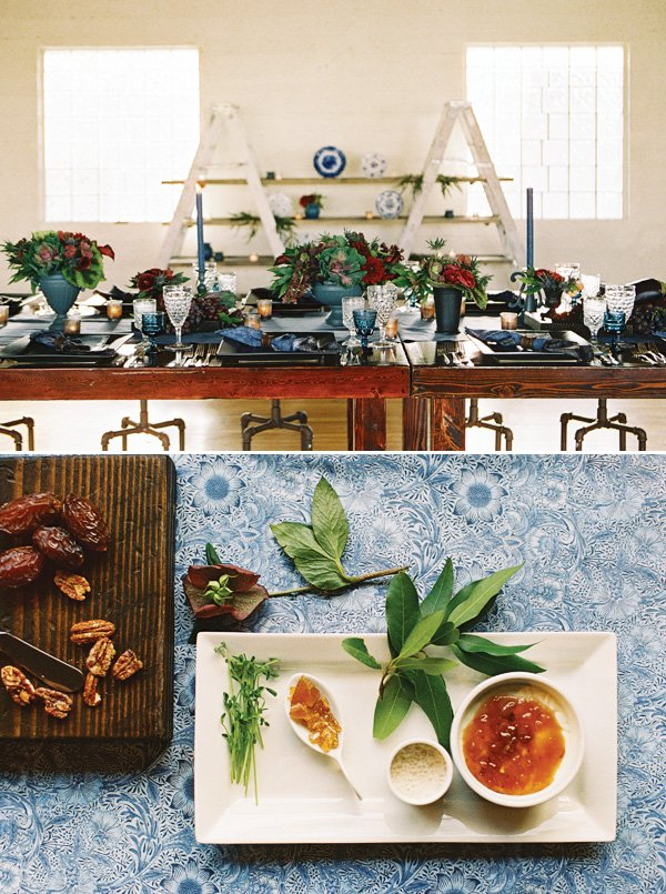 dinner party ideas for dessert and place settings
