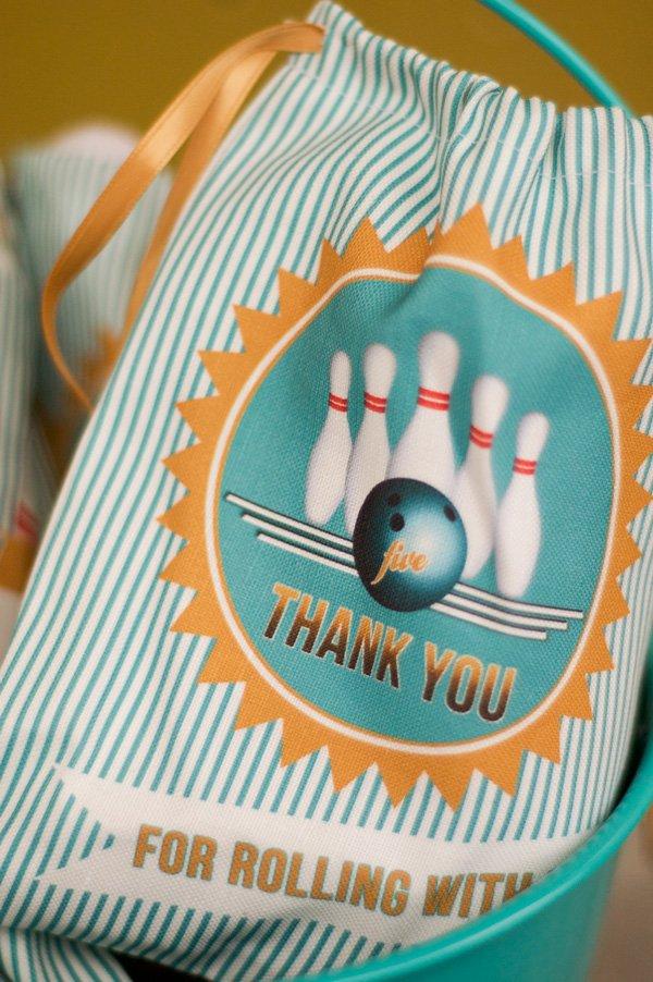 bowlfest custom fabric favor bag