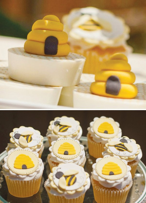bumble bee and beehive sweets