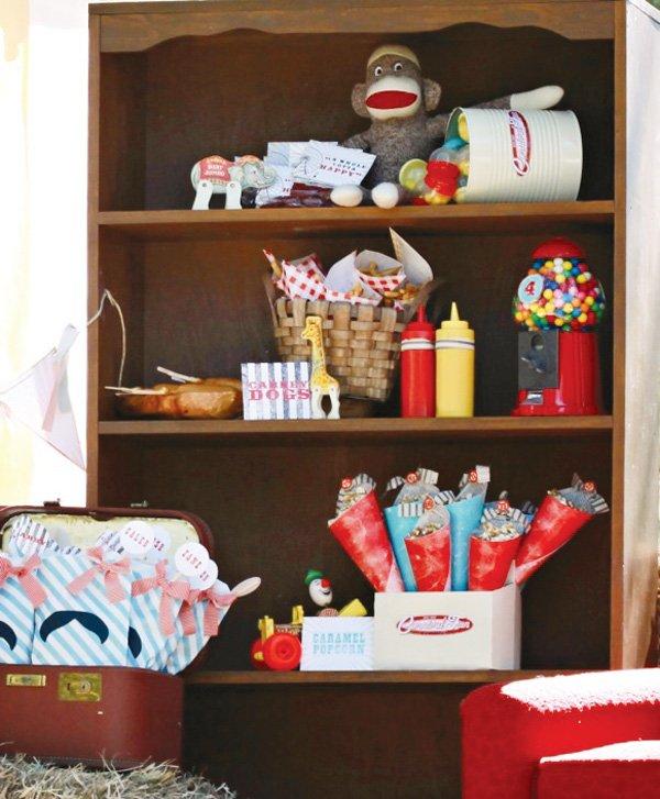 carnival party dresser