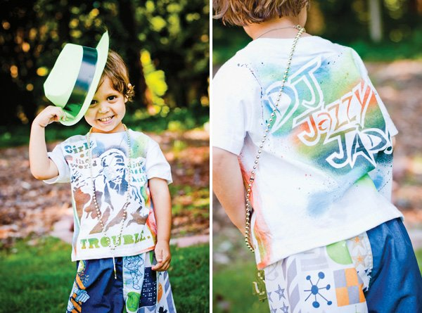 Fresh Prince of Bel Air inspired birthday graffiti t-shirt
