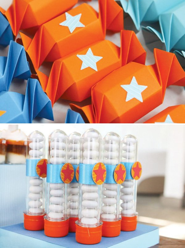 Dragon ball z party favors