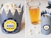duct tape diy tutorial for father's day with free printables from carrie selman