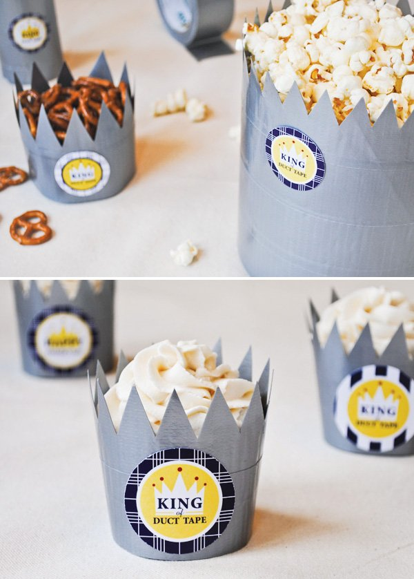 duct tape diy tutorial for father's day with free printables