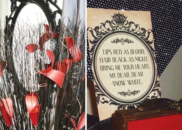 evil queen party decorations