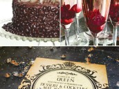 evil queen from snow white party invitation