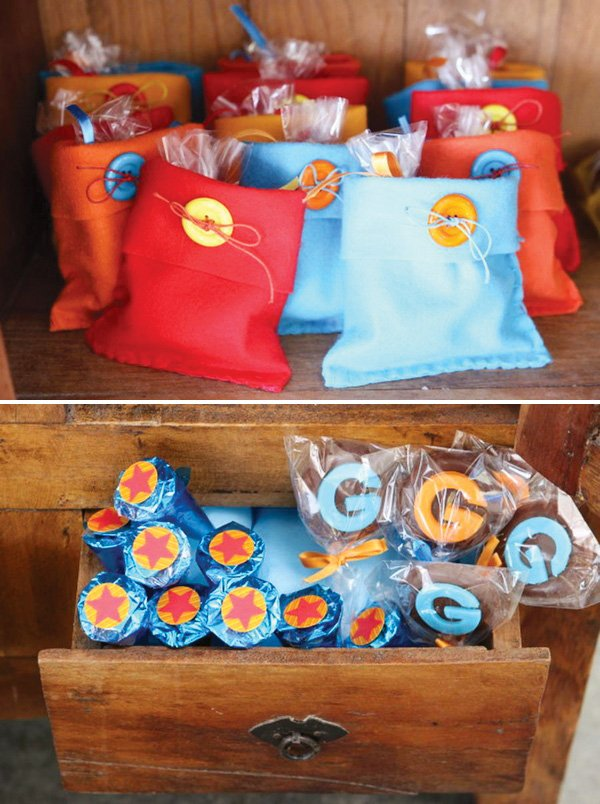 Party Favor Bags And Monogram Pops Dragon Ball Z Activity