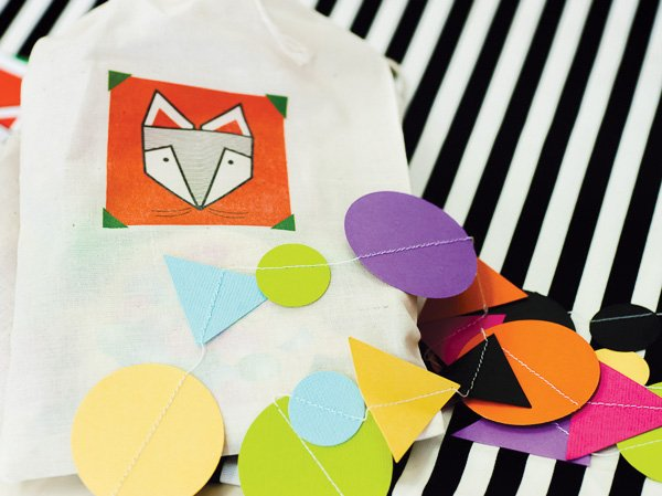 colorful ox party favors